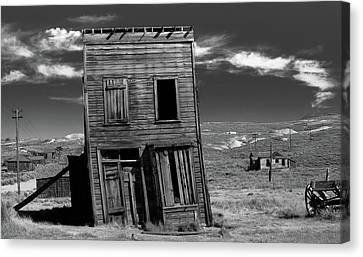 The Leaning Tower Of Bodie Canvas Print by Marius Sipa