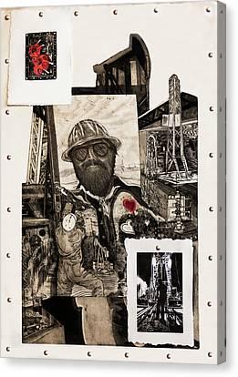 The Legend Of Riggo Maddix Canvas Print