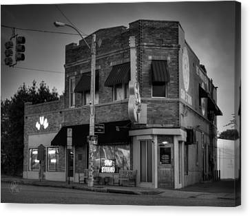 The Legendary Sun Studio 003 Bw Canvas Print by Lance Vaughn