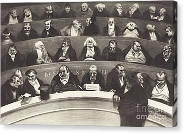 The Legislative Belly Canvas Print