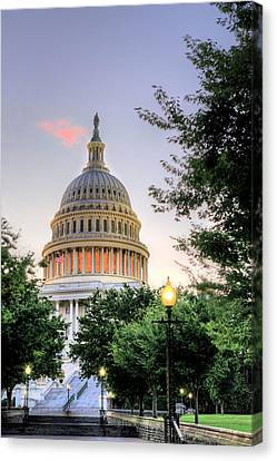 The Legislative Branch Canvas Print by JC Findley
