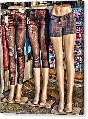 The Legs Have It Canvas Print