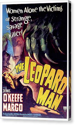 The Leopard Man Canvas Print by Movieworld Posters
