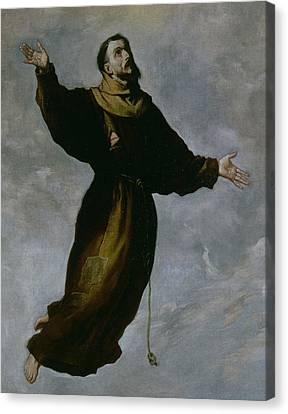 The Levitation Of Saint Francis Canvas Print