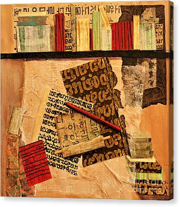 The Library Canvas Print by Sharon Eng