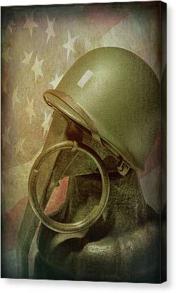 The Lieutenant Canvas Print by Tom Mc Nemar