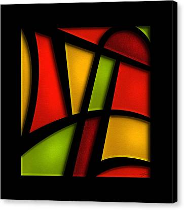 The Life - Abstract Canvas Print by Shevon Johnson