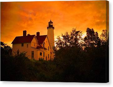 The Light At Dusk Canvas Print
