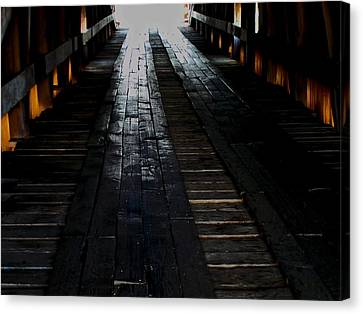 The Light At The End Canvas Print by Martin Morehead