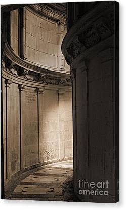 The Light At The End Of The Tunnel... Canvas Print