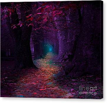The Light At The End Canvas Print by Rod Jellison
