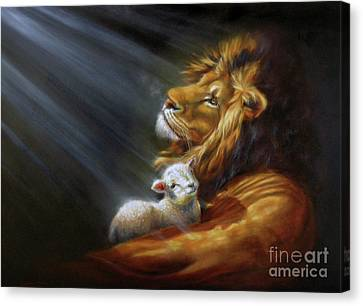 Isaiah - The Light Canvas Print