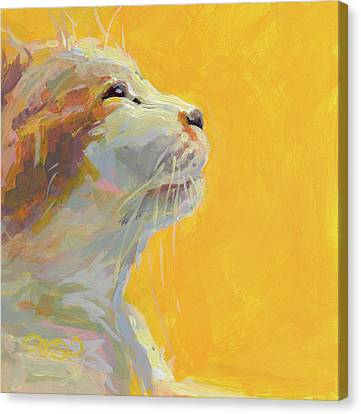 Tuxedo Canvas Print - The Light by Kimberly Santini