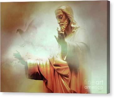 The Light Of The Lord Canvas Print