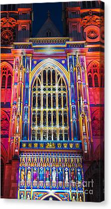 The Light Of The Spirit Westminster Abbey London Canvas Print by Tim Gainey