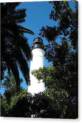 The Lighthouse Canvas Print by Audrey Venute