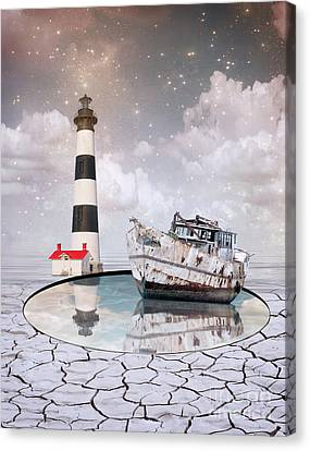 Guides Canvas Print - The Lighthouse by Juli Scalzi