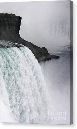 Canvas Print featuring the photograph The Liquid Curtain by Dana DiPasquale