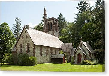 The Little Brown Church In The Vale Canvas Print