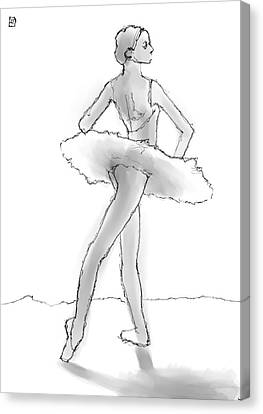 The Little Dancer Canvas Print by H James Hoff
