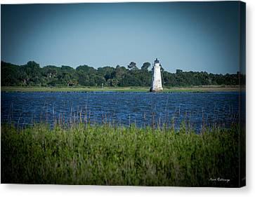 The Little Light Tybee Island Lighthouse Art Canvas Print