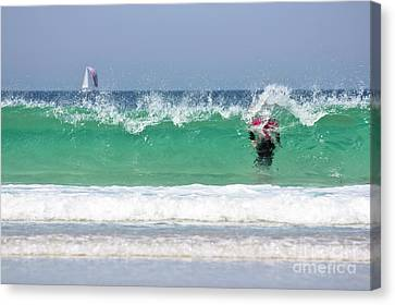 Canvas Print featuring the photograph The Little Mermaid by Terri Waters