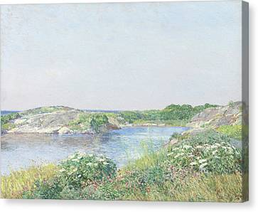 The Little Pond, Appledore Canvas Print by Childe Hassam
