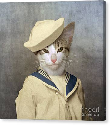 The Little Rascal Canvas Print by Martine Roch