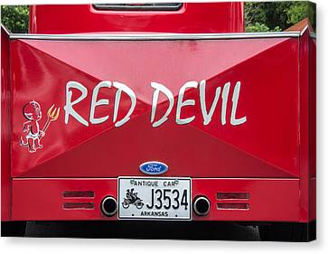 The Little Red Devil Canvas Print by Robert Kinser