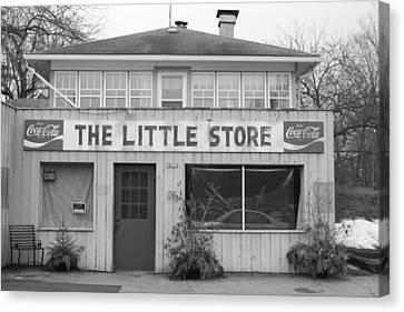 The Little Store Canvas Print by Lauri Novak