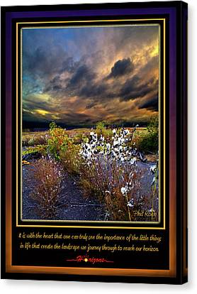 Natur Canvas Print - The Little Things by Phil Koch