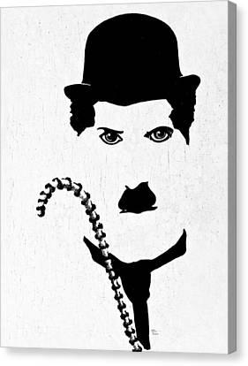 The Little Tramp Canvas Print