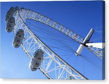 The London Eye, Close-up Canvas Print
