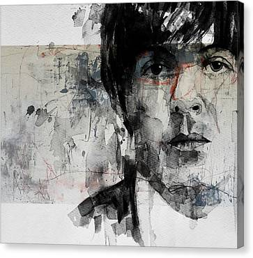 Paul Mccartney Canvas Print - The Long And Winding Road  by Paul Lovering