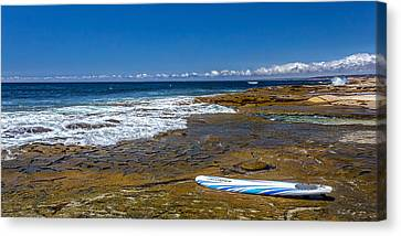 The Long Board Canvas Print