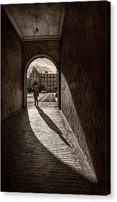 The Long Shadow Canvas Print