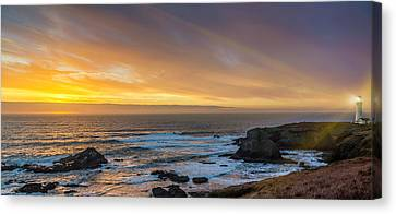 The Long View Canvas Print by James Heckt