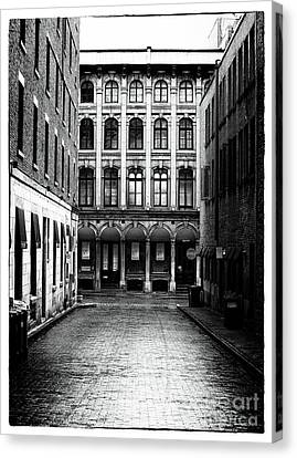 The Long Walk To The End Canvas Print