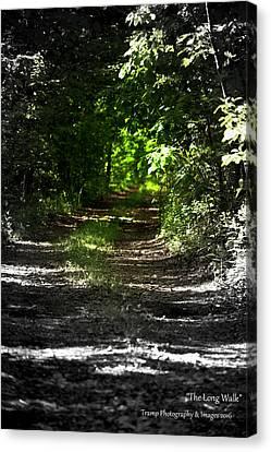 The Long Walk Canvas Print