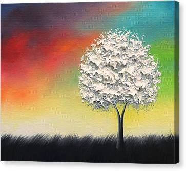 The Longings Between Canvas Print by Rachel Bingaman