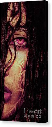 The Look..  Canvas Print