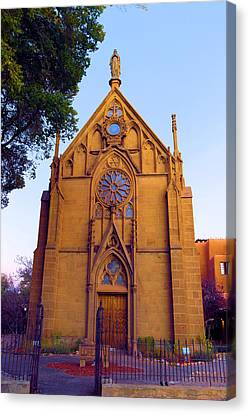 The Loretto Chapel Canvas Print by Jeff Swan