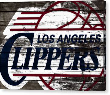 The Los Angeles Clippers 3a Canvas Print