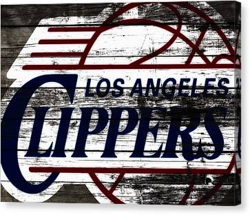 The Los Angeles Clippers 3b Canvas Print