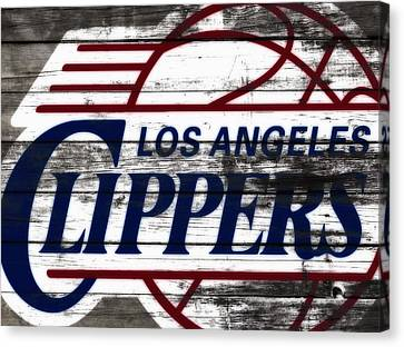 The Los Angeles Clippers 3c Canvas Print