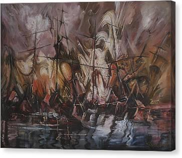 The Lost Armada IIi Canvas Print