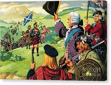 The Lost Cause Of Bonnie Prince Charlie Canvas Print by Pat Nicolle