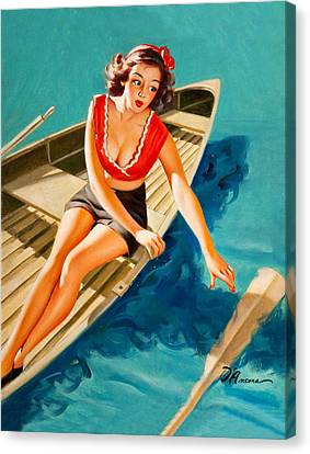 Canvas Print - The Lost Paddle by Long Shot