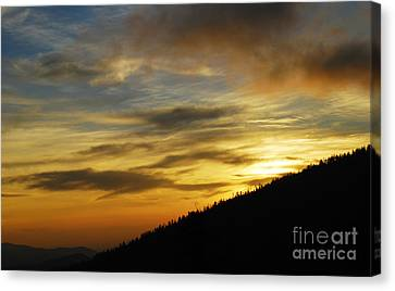 The Loud Music Of The Sky Canvas Print