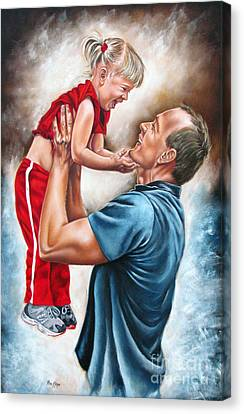 The Love Of The Father Canvas Print by Ilse Kleyn